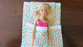 Постелька для Барби ′Цветочная′