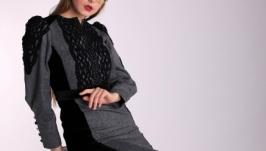 ′Леди Грей′ Платье в сдержанном английском стиле