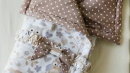 Детское одеяло-конверт Night Forest