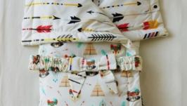 Детское одеяло-конверт Indian Tale