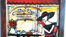 Картина ′Перерва на каву′