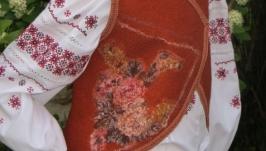 Валяный костюм ′Маленький цветочек′