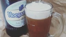 Свеча ′Кружка пива′ - необычный подарок для мужчины