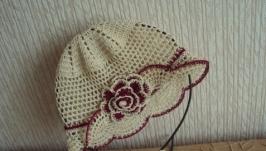 Ажурная шляпка ′Морской песочек′
