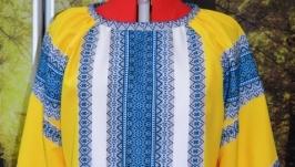 блуза в национальном стиле