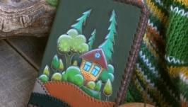 Обложка для автодокументов «Уютный лес»