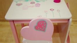дитячий столик і стільчик ′Серденько′