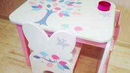 дитячий столик і стільчик ′Пташенята′