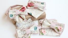 Набор бабочка и платок-паше ′Винтажный′