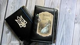 Обложка на паспорт из кожзама