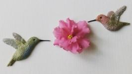 Колибри из полимерной глины