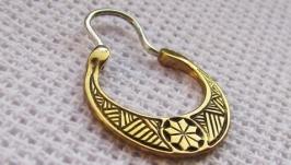 Алатирська сережка для чоловіків з бронзи