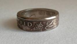 Кольцо из монеты Великобритания
