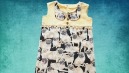 Платье ′Мопсики′