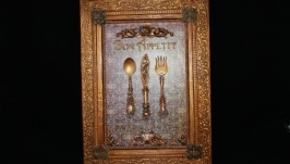 Панно для кухни ′Bon Appetit′