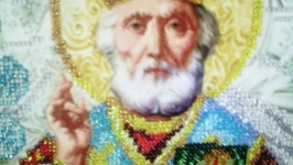 Икона Николая Чудотворца (зимний)