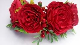 Веночек Калина c розами