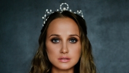 Корона, диадема из речного жемчуга ′Виктория′