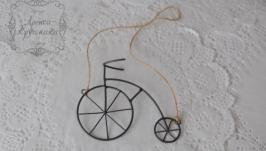 Підвіска декоративна ′Велосипед′ 120*100*30