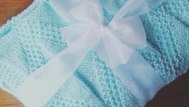 Плед для новородженных ′Мята′
