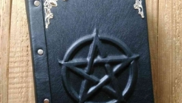 Гримуар Пентаграмма в серебре, блокнот