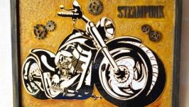 Витражная картина ′Moto loft′
