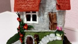 Интерьерный особнячок. Сказочный домик. Подарок