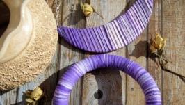 Комплект украшений ′Фиолетовый закат′