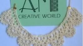 Вязаное ожерелье ′Aristocrat′