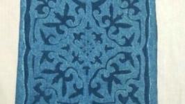 сумка из джинса в этно стиле