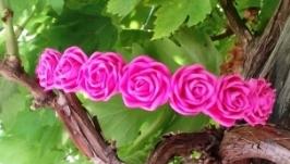 Обруч для волос Розовые Розы