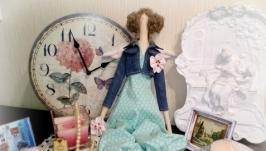 Интерьерная кукла Тильда Весенний ангел