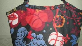 Сумка ′Фламинго′, ткань с тефлоновым покрытием