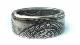 Кольцо из монеты 1 рубль 1965