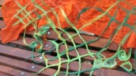 Валяний шалик ′Осінь в Торонто′