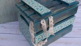 Ящичек для рукоделия ′Ситцевый платочек′