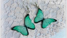 Легкие мятные бабочки .