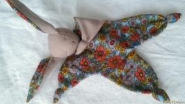 Комфортер ′Зайка сплюшка′ для новорожденных