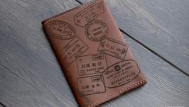 Обложка на паспорт ′Визы′