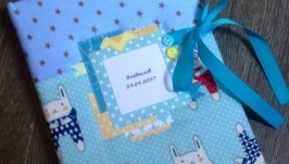 Блокнот Мамины заметки для мальчика с зайками