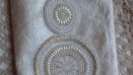 Сумочкаклатчкосметичка вышивая бисером