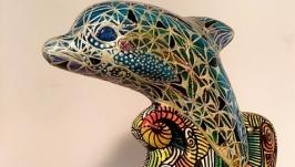 Дельфин Фентези статуэтка.