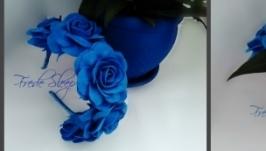 Синій віночок