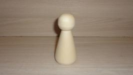 Кукла деревянная для творчества