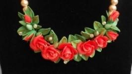 комплект свадебных украшений ′Коралловый′
