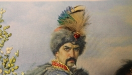 Картина лентами «Козак Иван Богун». Под заказ