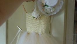 Платье пышное детское нарядное ′Мисс Элегантность′, стиль′ту-ту′