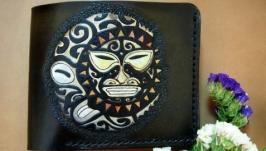 Кошелек кожаный Майя