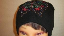 Вышиванка шапка, Бабочки.