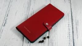 Женское портмоне «Long Wallet RED SF